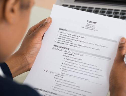 Creating An Impactful Resume…