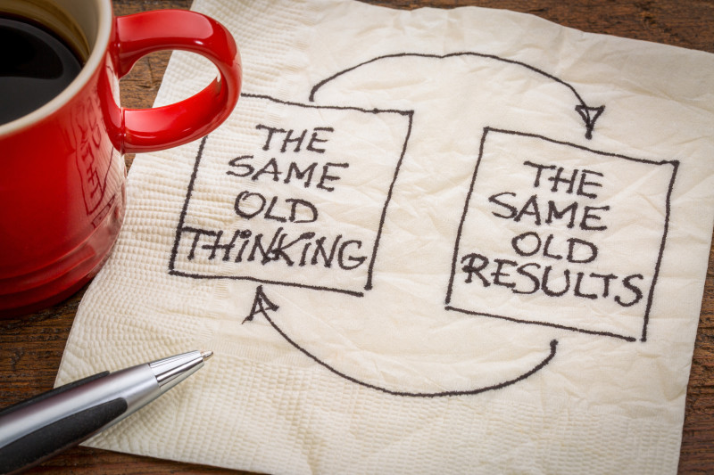 same old thinking leads to same old results
