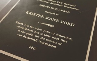 SHS 2017 KKF Award
