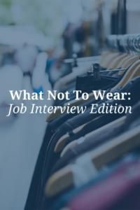 job interview attire