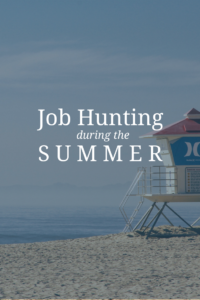 summer job searches