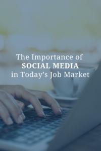 social media job market