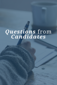interview questions from candidates