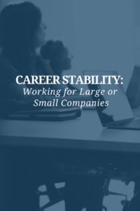 career stability