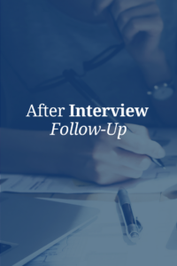 interview follow-up
